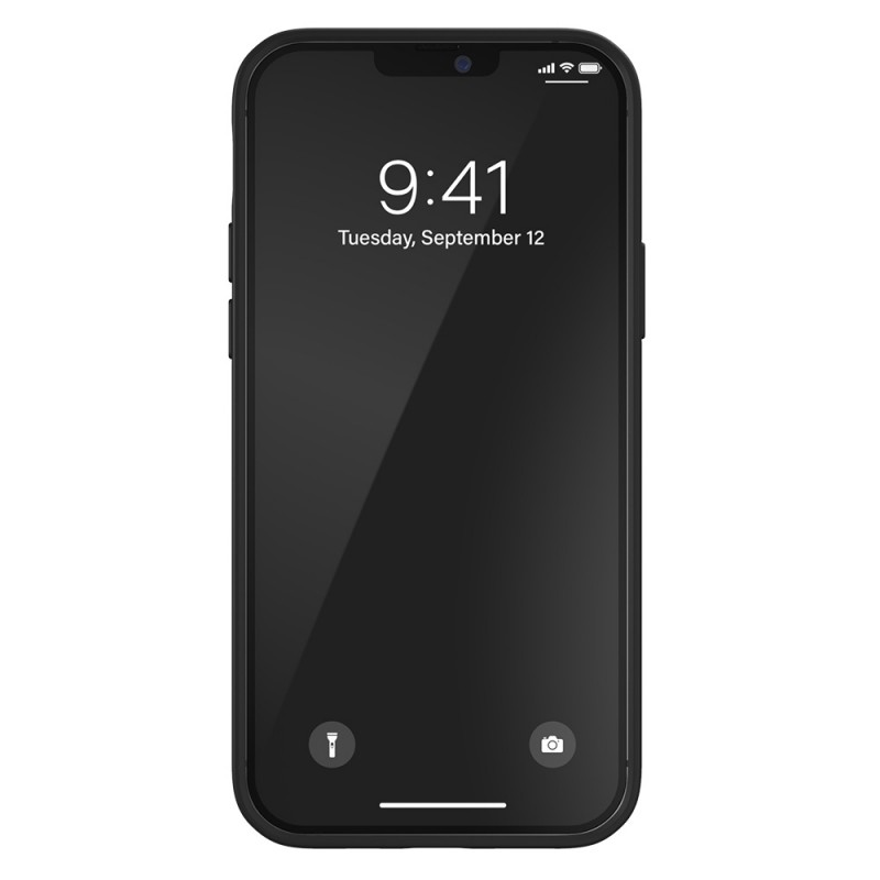 Adidas Moulded Case iPhone 12 / 12 Pro 6.1 Zwart/Geel - 6