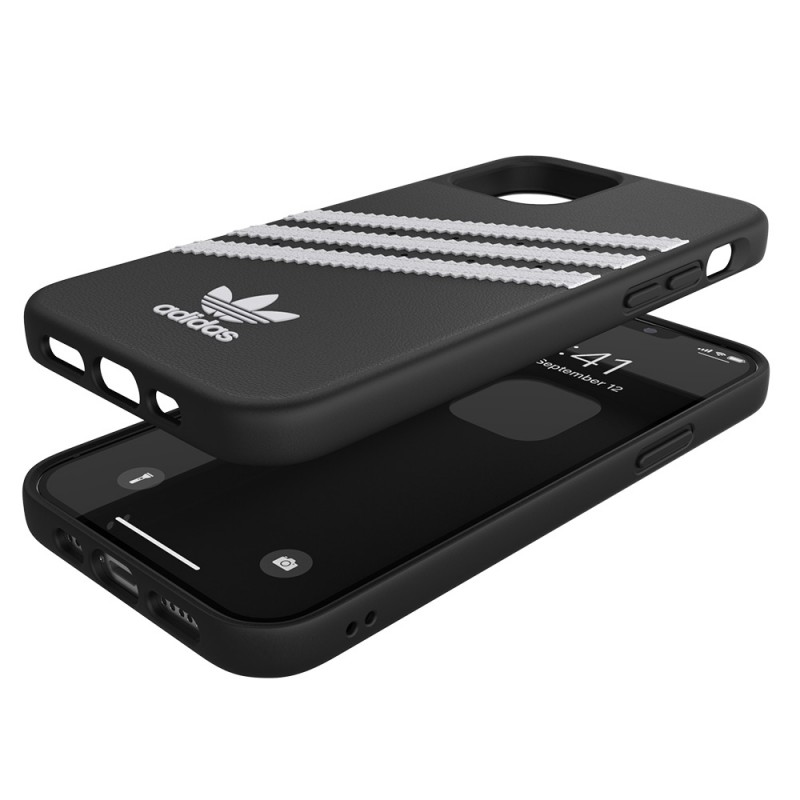 Adidas Moulded Case iPhone 12 / 12 Pro 6.1 Zwart/wit - 2