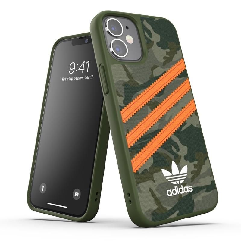 Adidas Moulded Case Camo Phone 12 Mini 5.4 Groen/oranje - 5