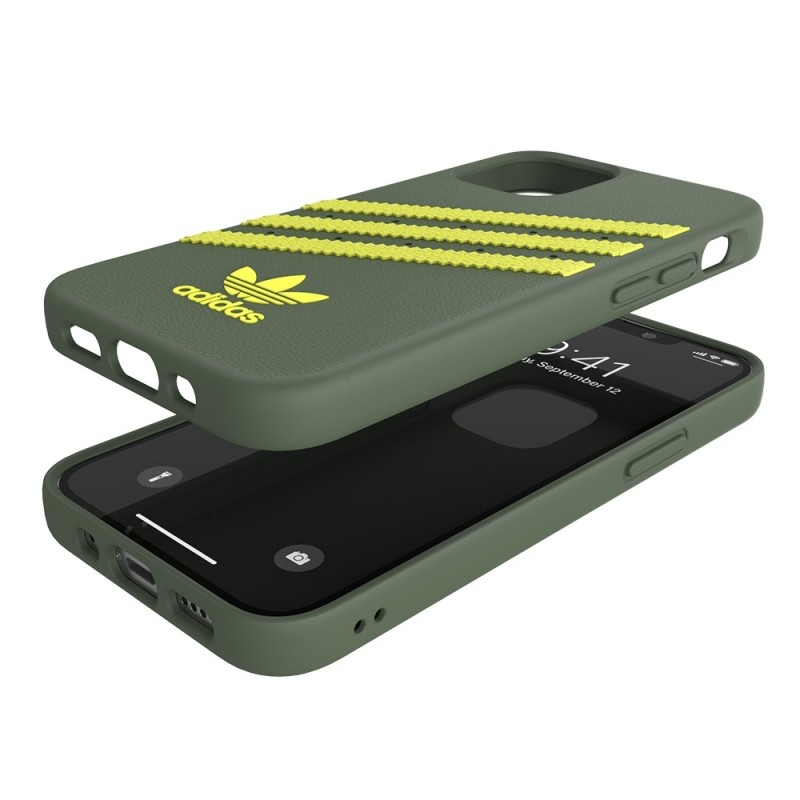 Adidas Moulded Case Phone 12 Mini 5.4 Groen/geel - 2