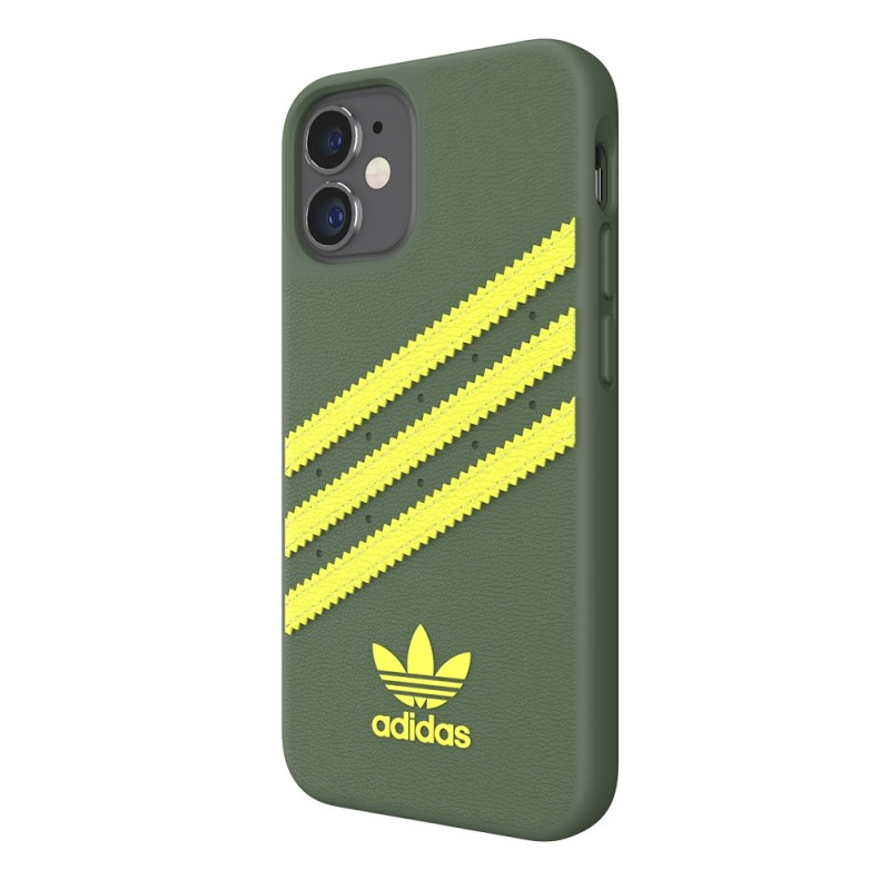 Adidas Moulded Case Phone 12 Mini 5.4 Groen/geel - 5