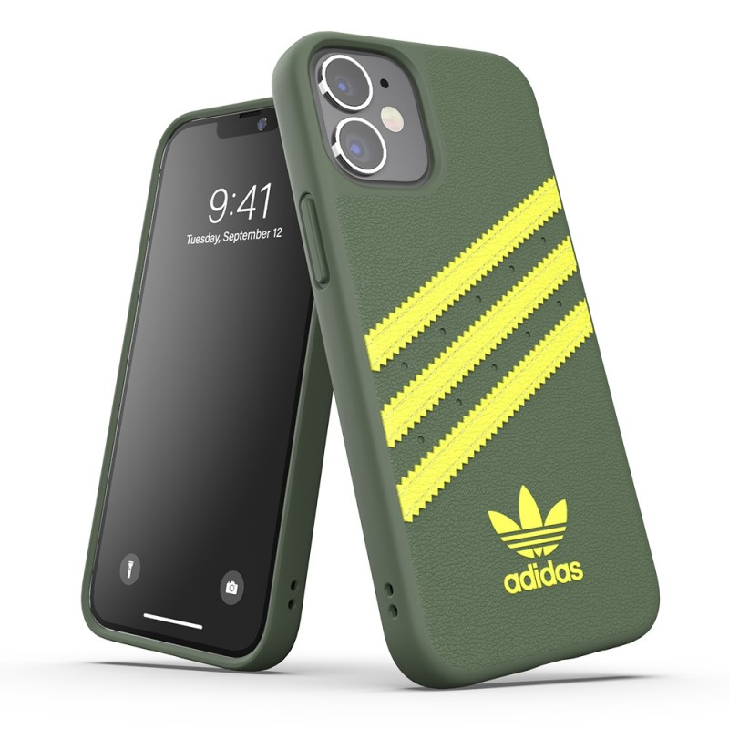Adidas Moulded Case Phone 12 Mini 5.4 Groen/geel - 6