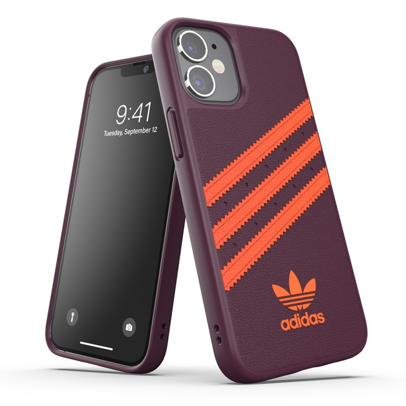Adidas Moulded Case Phone 12 Mini 5.4 Paars/oranje - 4