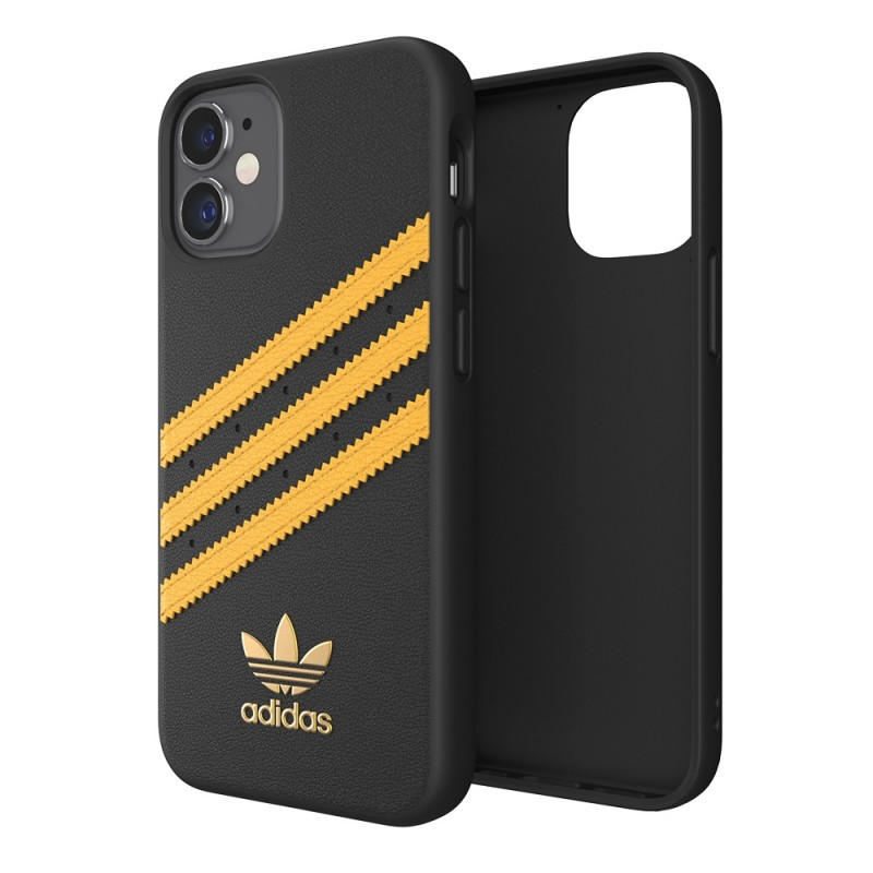 Adidas Moulded Case Phone 12 Mini 5.4 Zwart/geel - 1