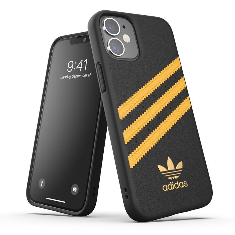 Adidas Moulded Case Phone 12 Mini 5.4 Zwart/geel - 4