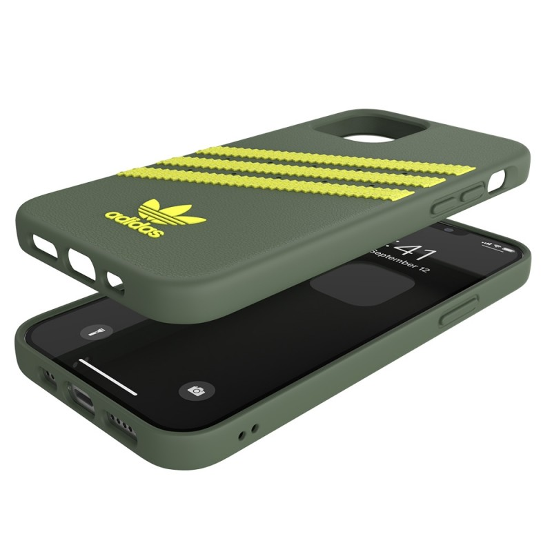 Adidas Moulded Case iPhone 12 Pro Max Groen/geel - 2