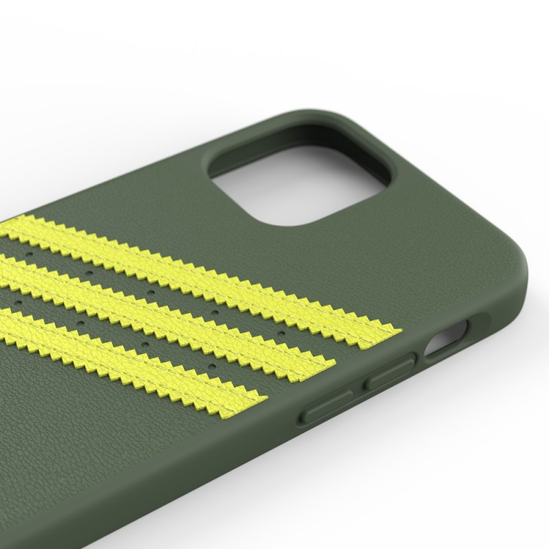 Adidas Moulded Case iPhone 12 Pro Max Groen/geel - 3