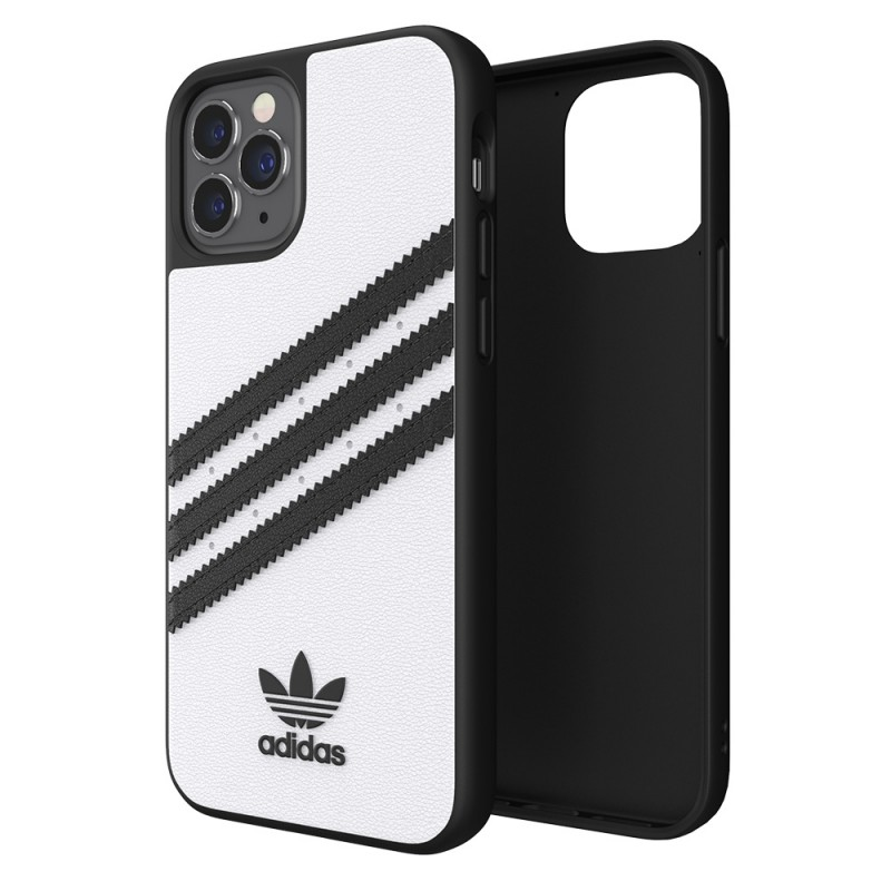Adidas Moulded Case iPhone 12 Pro Max Wit/zwart - 1