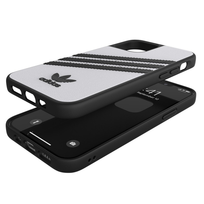Adidas Moulded Case iPhone 12 Pro Max Wit/zwart - 2
