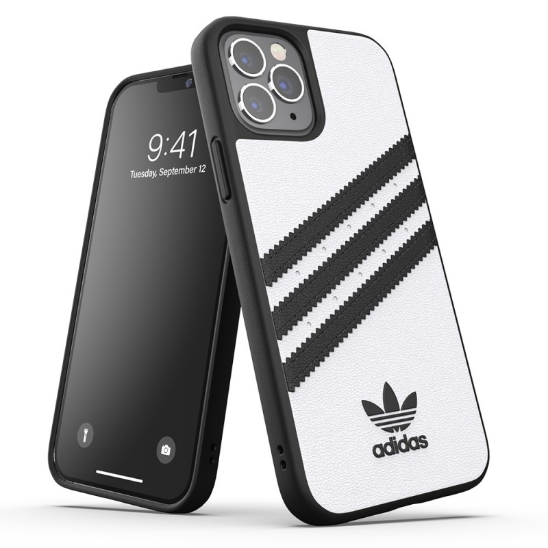 Adidas Moulded Case iPhone 12 Pro Max Wit/zwart - 5