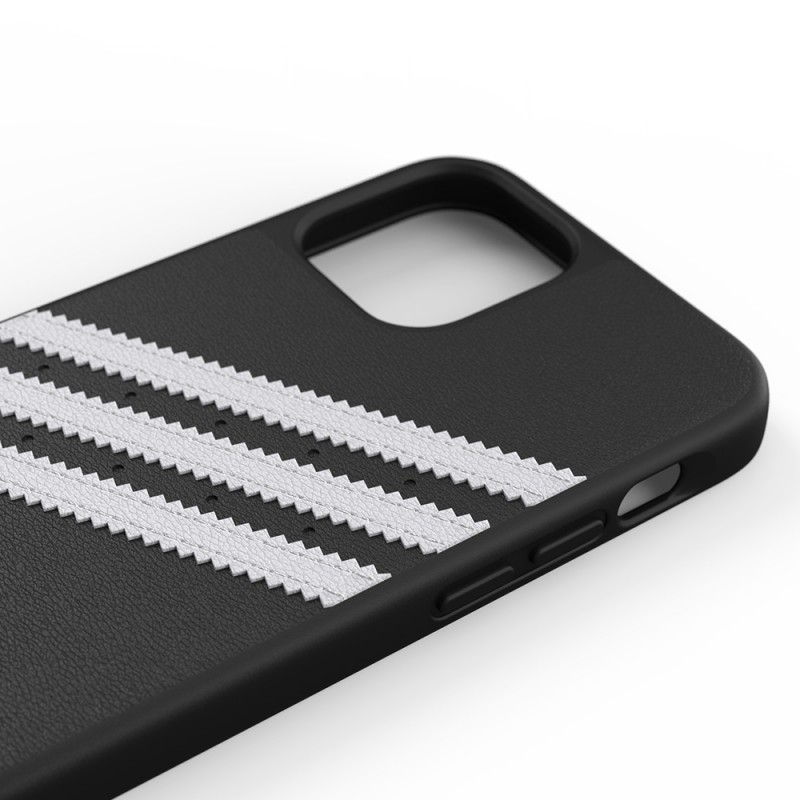 Adidas Moulded Case iPhone 12 Pro Max Zwart/wit - 6