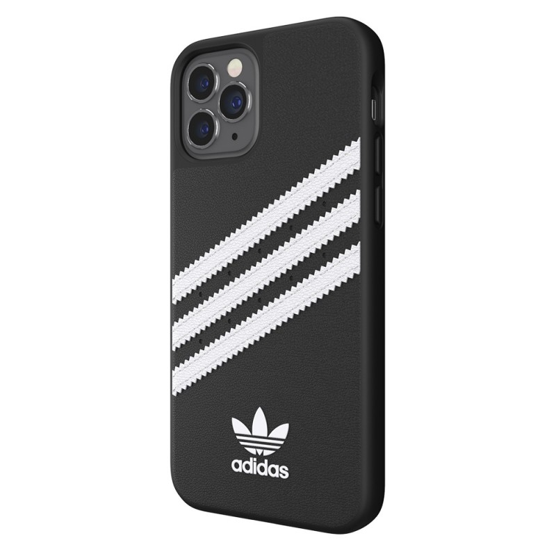 Adidas Moulded Case iPhone 12 Pro Max Zwart/wit - 5