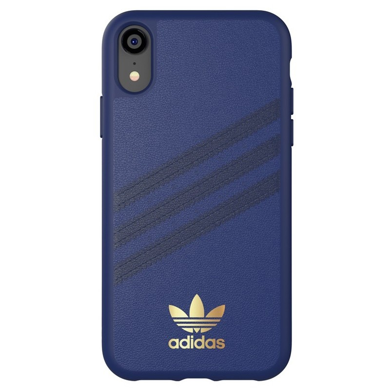 Adidas Moulded Case iPhone Xr Blauw 01