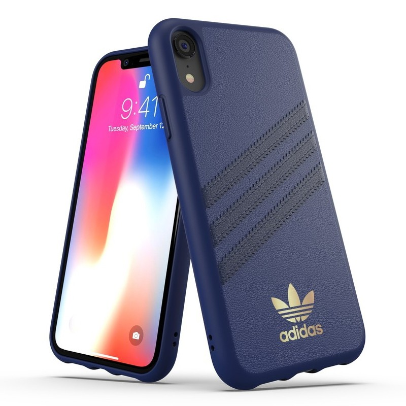 Adidas Moulded Case iPhone Xr Blauw 03