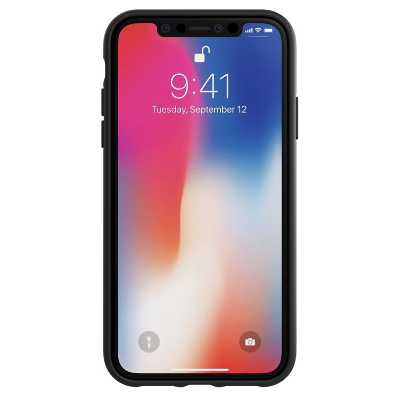 Adidas Moulded Case iPhone Xr wit/zwart 02