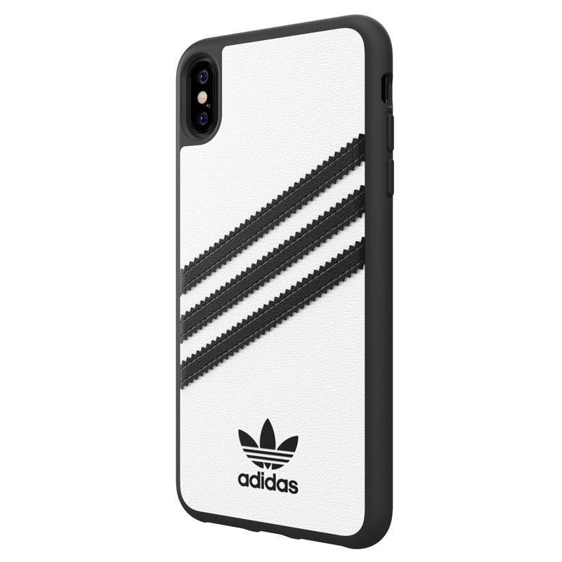 Adidas Moulded Case iPhone Xs Max wit/zwart 04