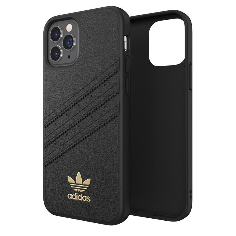 Adidas Moulded Case Premium iPhone 12 Pro Max Zwart - 1