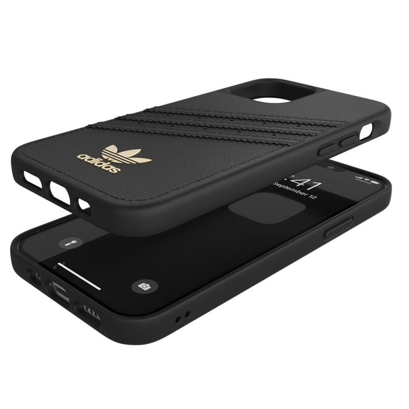 Adidas Moulded Case Premium iPhone 12 Pro Max Zwart - 2