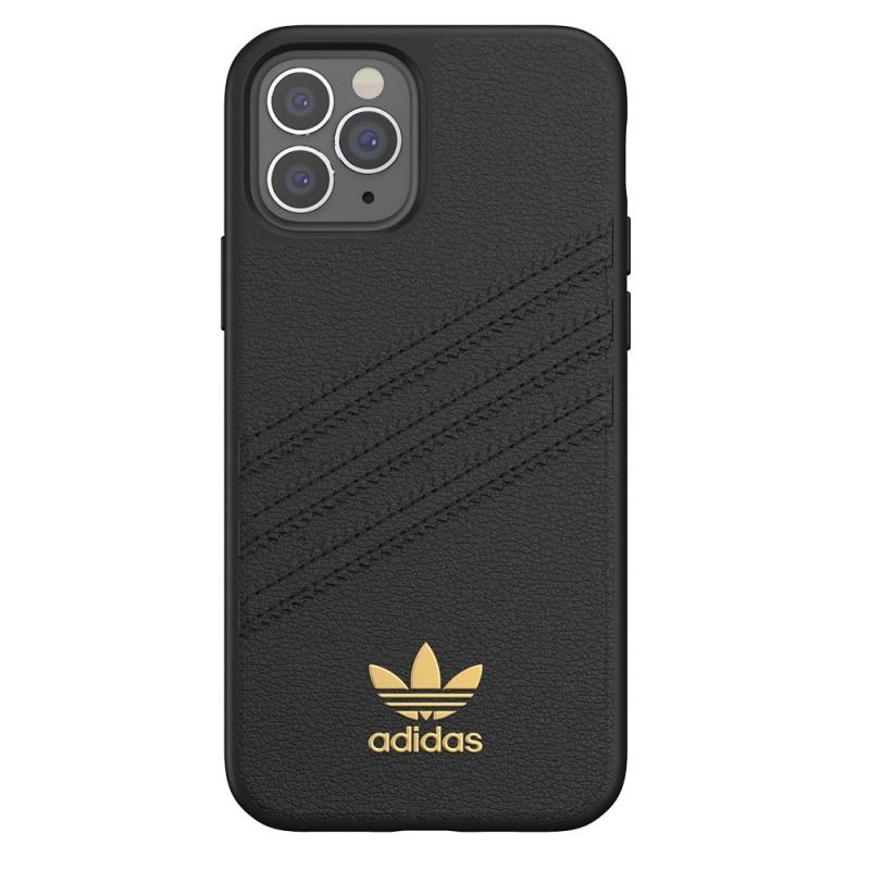 Adidas Moulded Case Premium iPhone 12 Pro Max Zwart - 5