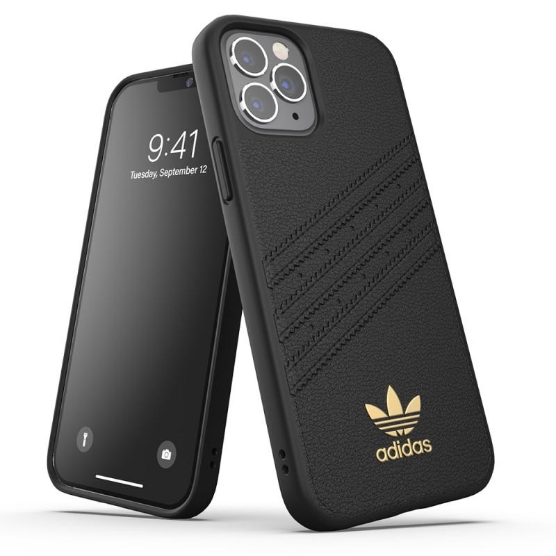 Adidas Moulded Case Premium iPhone 12 Pro Max Zwart - 6