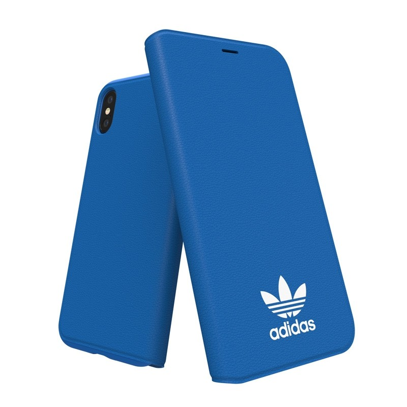 Adidas Originals - Booklet Case iPhone X/Xs Blauw - 4
