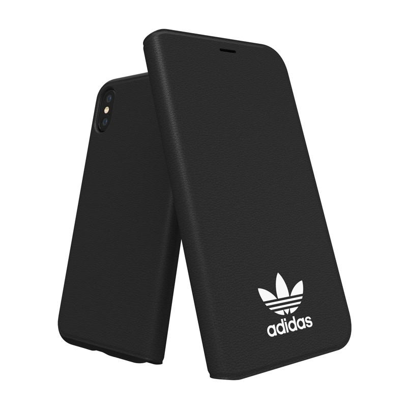 Adidas Originals - Booklet Case iPhone X/Xs Zwart - 4