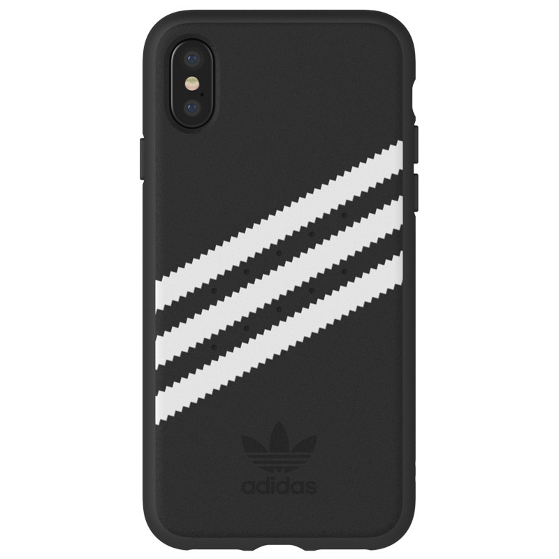 Adidas Originals Moulded iPhone X/Xs Case Black/White Stripes 02