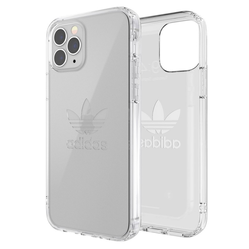 Adidas Protective Clear Case iPhone 12 / 12 Pro 6.1 Transparant - 1