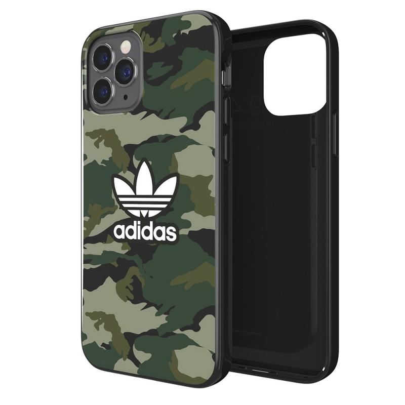 Adidas Snap Case Camo iPhone 12 / 12 Pro 6.1 Groen - 1