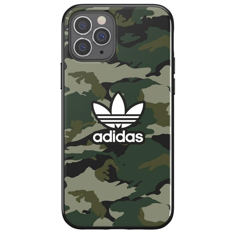 Adidas Snap Case Camo iPhone 12 / 12 Pro 6.1 Groen - 6