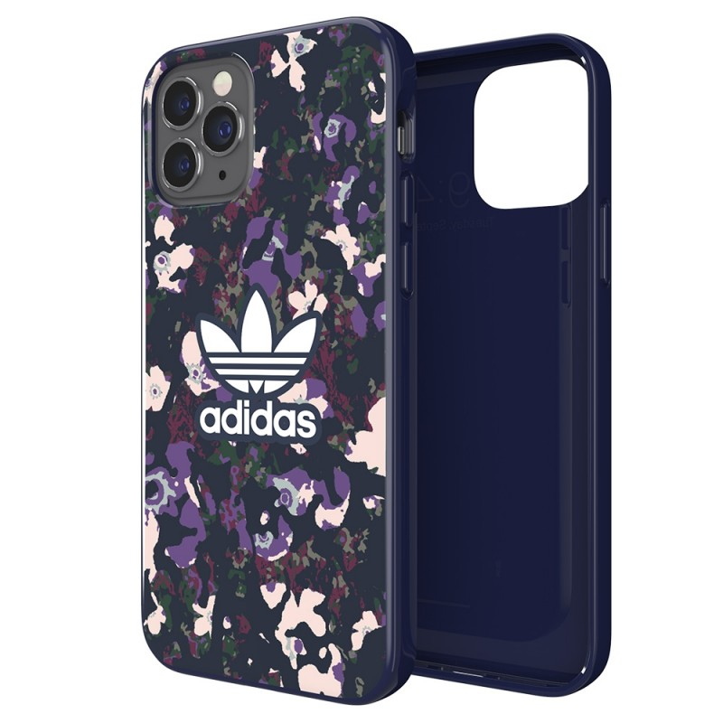 Adidas Snap Case Camo iPhone 12 / 12 Pro 6.1 Paars - 1