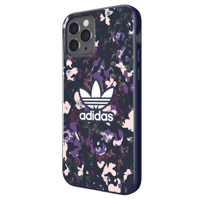 Adidas Snap Case Camo iPhone 12 / 12 Pro 6.1 Paars - 3