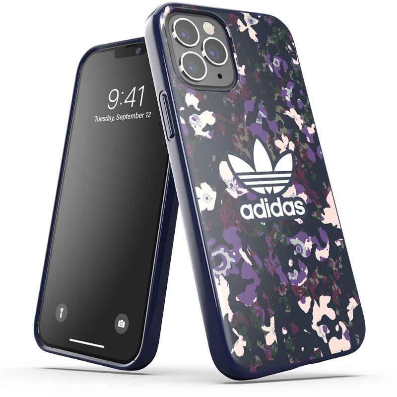 Adidas Snap Case Camo iPhone 12 / 12 Pro 6.1 Paars - 4
