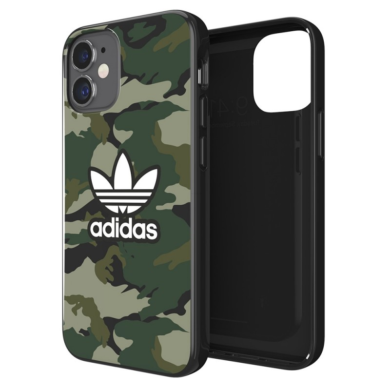 Adidas Snap Case Camo Phone 12 Mini 5.4 Groen - 1