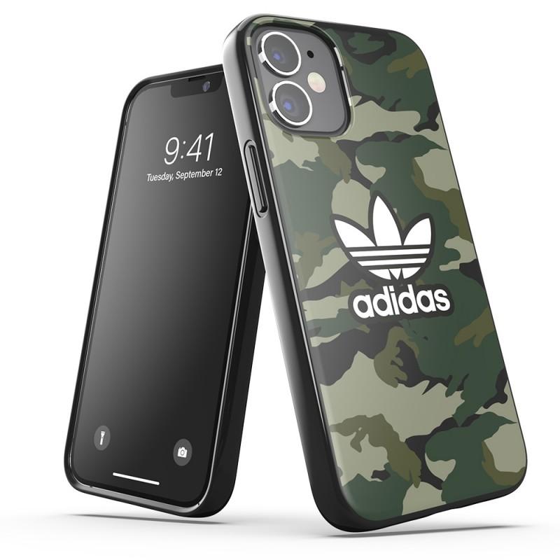 Adidas Snap Case Camo Phone 12 Mini 5.4 Groen - 4
