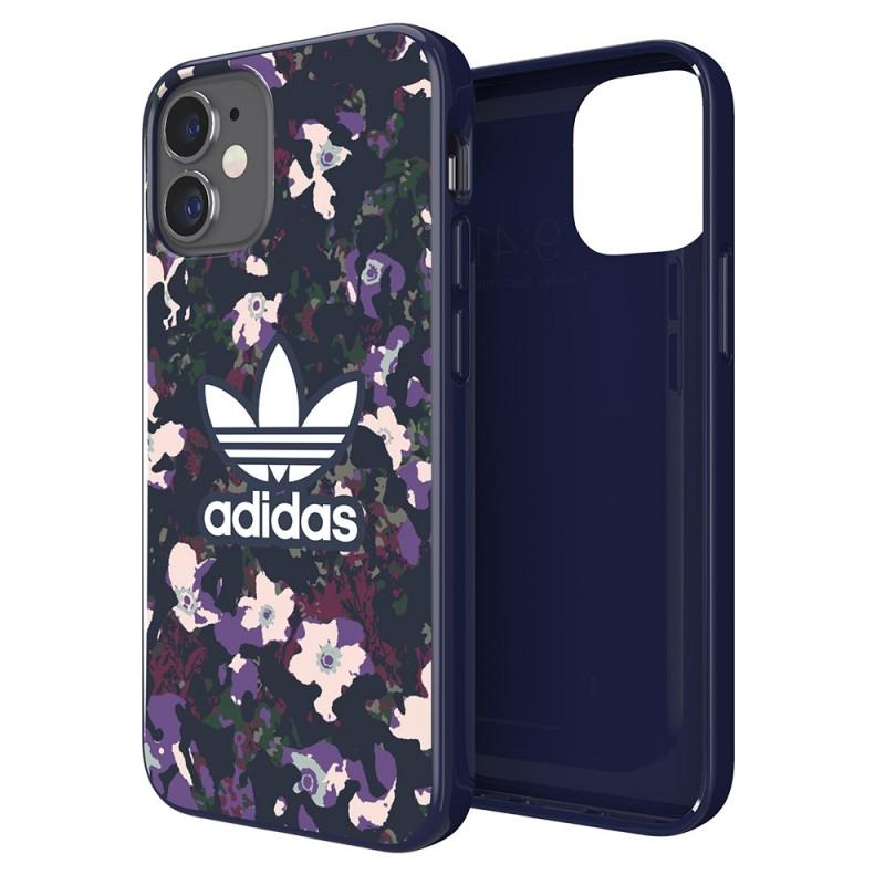 Adidas Snap Case Camo Phone 12 Mini 5.4 Paars - 1