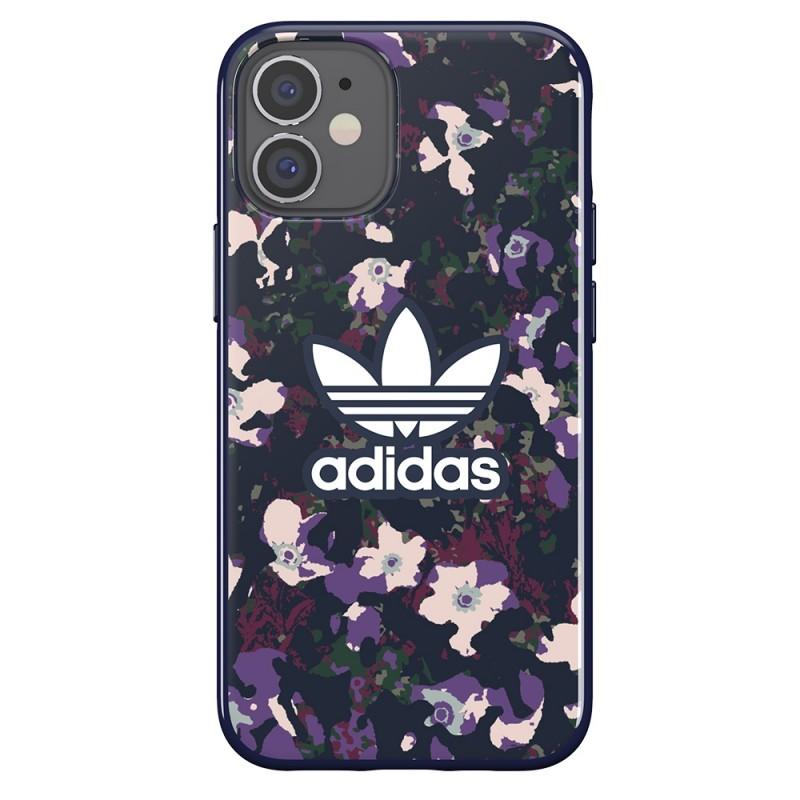 Adidas Snap Case Camo Phone 12 Mini 5.4 Paars - 5