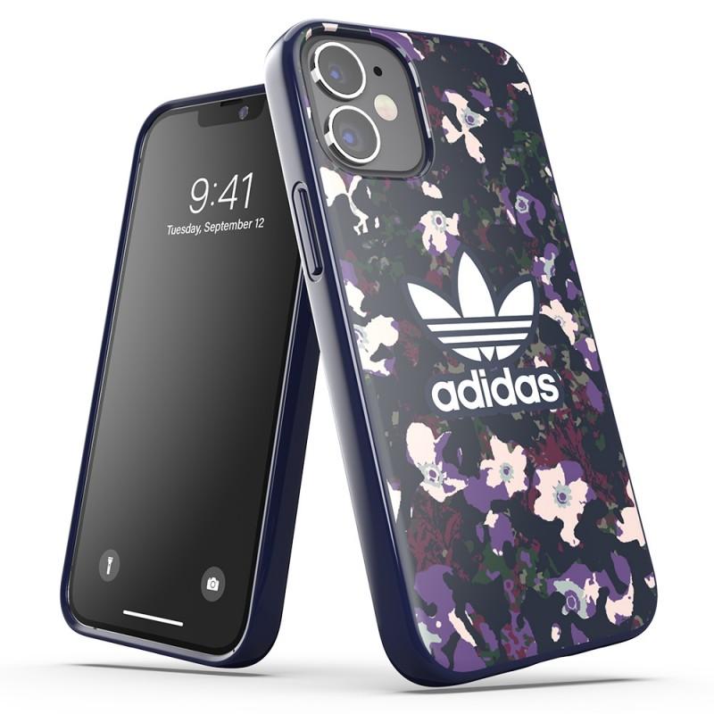 Adidas Snap Case Camo Phone 12 Mini 5.4 Paars - 4