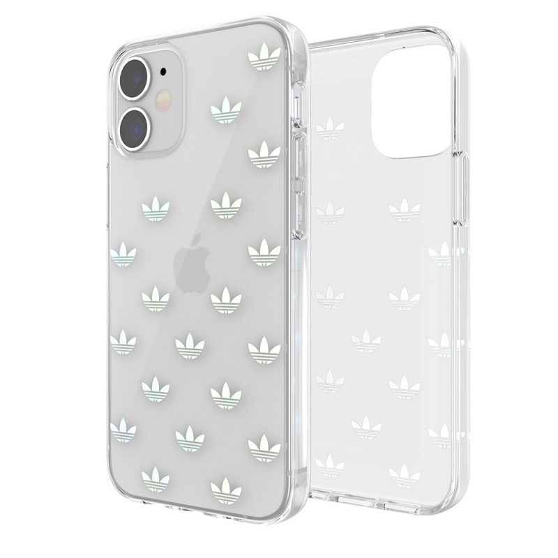 Adidas Snap Case Clear Phone 12 Mini 5.4 Logos - 1