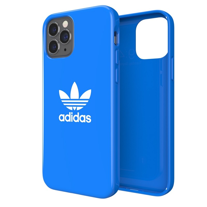 Adidas Snap Case iPhone 12 / 12 Pro 6.1 Blauw - 1