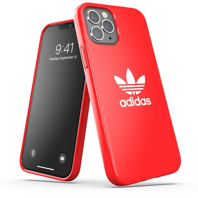 Adidas Snap Case iPhone 12 Pro Max Rood - 4