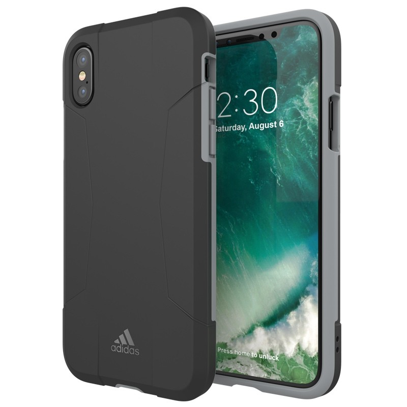 Adidas SP Solo Case iPhone X/Xs Black-Grey 03