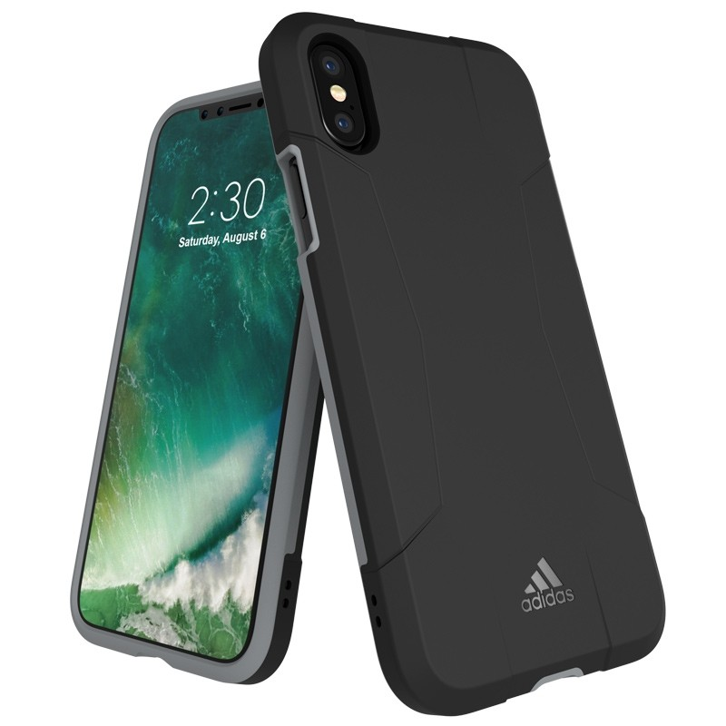Adidas SP Solo Case iPhone X/Xs Black-Grey 01