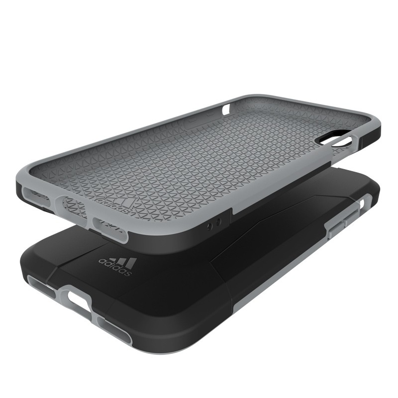 Adidas SP Solo Case iPhone X/Xs Black-Grey 06