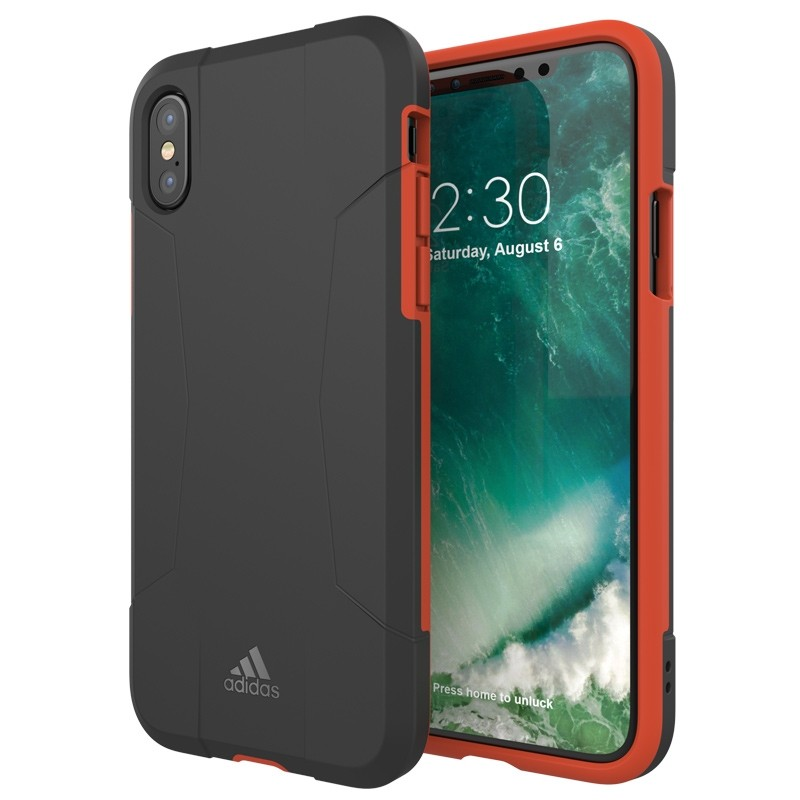 Adidas SP Solo Case iPhone X/Xs Black-Red 03