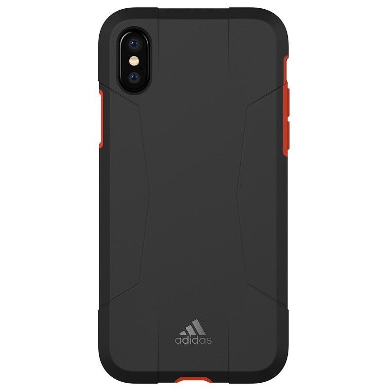 Adidas SP Solo Case iPhone X/Xs Black-Red 02
