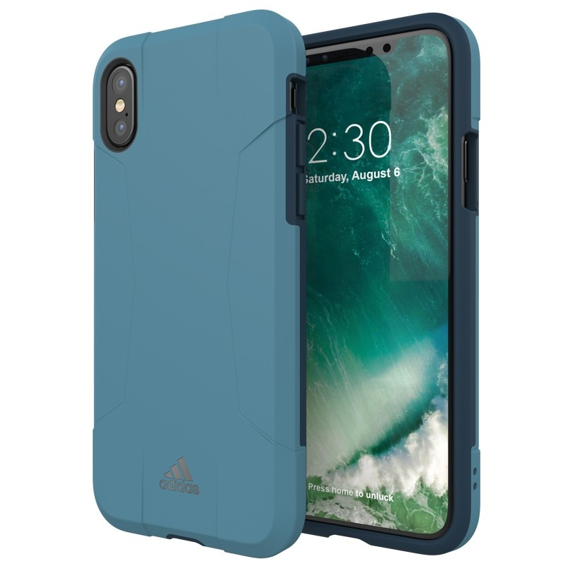 Adidas SP Solo Case iPhone X/Xs Core Blue 03