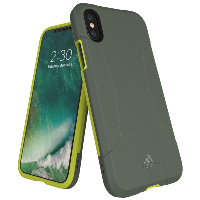 Adidas SP Solo Case iPhone X/Xs Solar Yellow 01