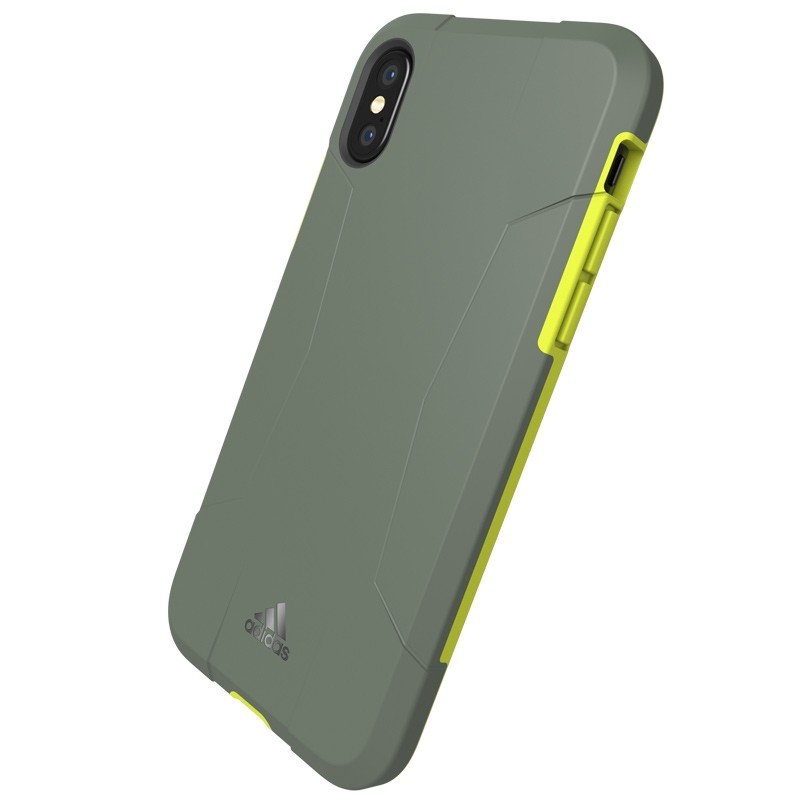 Adidas SP Solo Case iPhone X/Xs Solar Yellow 05