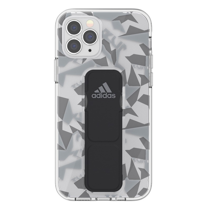 Adidas Clear Grip Case iPhone 12 / 12 Pro 6.1 Grijs/transparant - 2